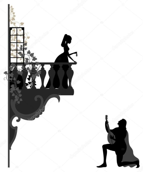 serenade-clipart-black-and-white-9