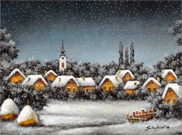 15-Snežna-idila-ulje-na-platnu-60-x-80-2011.-1024x765